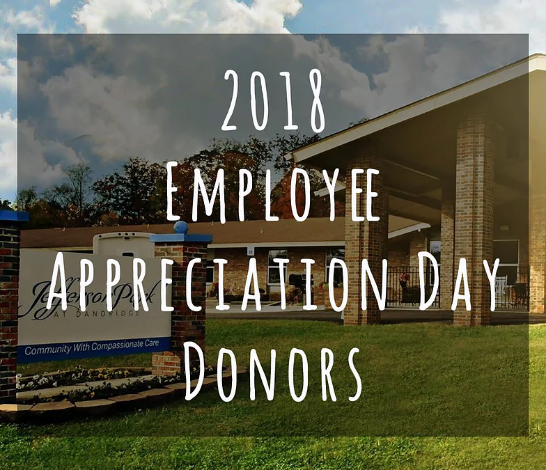 Employee Appreciation Donor Recognition