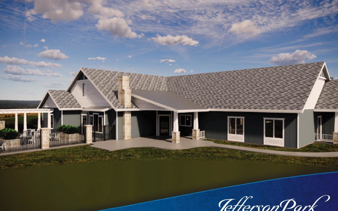 A rendering of Jefferson Park's new facility in White Pine, TN.