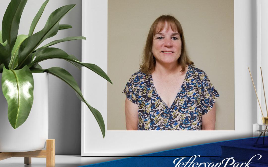 august resident of the month, Teresa Everhart