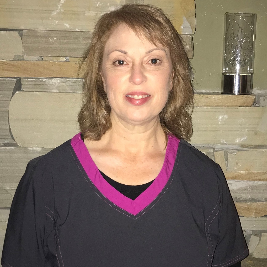 headshot of employee of the month gail woods